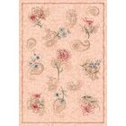 Pastiche Vintage Almond Area Rug Rug Size: Oval 7'8