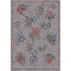 Pastiche Vintage Wispy Gray Area Rug Rug Size: Oval 3'10
