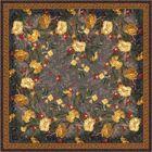 Pastiche Barrington Court Ebony Floral Rug Rug Size: Oval 3'10