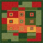 Pastiche Bloques Fiji Rug Rug Size: Rectangle 7'8