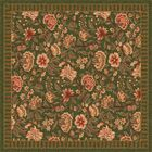 Pastiche Vachell Deep Olive Area Rug Rug Size: Rectangle 7'8
