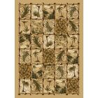 Signature Cayman Isle Pale Topaz Area Rug Rug Size: Rectangle 3'10