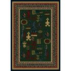 Signature Limoges Emerald Sapphire Area Rug Rug Size: Rectangle 3'10