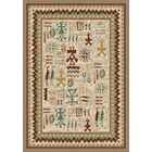 Signature Limoges Pearl Mist Area Rug Rug Size: Square 7'7