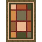 Pastiche Ababa Dark Olive Rug Rug Size: Rectangle 7'8