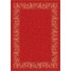 Modern Times Sonata Indian Red Area Rug Rug Size: Rectangle 5'4