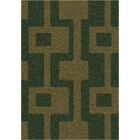 Modern Times Uptown Yew Tree Area Rug Rug Size: Round 7'7