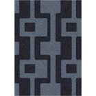Modern Times Uptown Ebony Area Rug Rug Size: Round 7'7