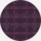 Modern Times Aura Vineyard Area Rug Rug Size: Round 7'7