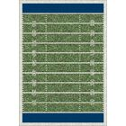 My Team Sport Friday Nights Novelty Area Rug Rug Size: Rectangle 5'4