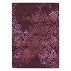 Tate Claret Purple Area Rug Rug Size: Rectangle 5'4