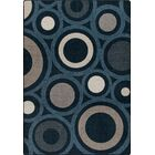 Mix and Mingle Indigo in Focus Rug Rug Size: Rectangle 7'8