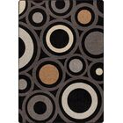 Mix and Mingle Onyx in Focus Rug Rug Size: Rectangle 3'10