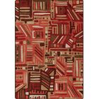Mix and Mingle Red Oak Urban Order Rug Rug Size: Rectangle 7'8