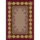 Innovation Kimberly Brick Area Rug Rug Size: Rectangle 3'10
