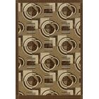 Pastiche Modernes Cafe Creme Area Rug Rug Size: Rectangle 2'1