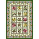 Winter Seasonal Yuletide Garden Green Area Rug Rug Size: Rectangle 3'10