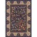 Pastiche Kashmiran Balsa Black Currant Area Rug Rug Size: Oval 3'10