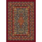 Pastiche Kashmiran Tiraz Tapestry Red Area Rug Rug Size: Octagon 7'7
