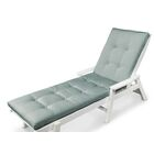 Luxe? Indoor/Outdoor Chaise Lounge Cushion Size: 22