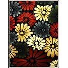 Elif/Passion Red/Black Area Rug Rug Size: 5'3'' x 7'3''