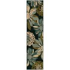 Bienville Teal/Ivory Area Rug Rug Size: Rectangle 5' x 7'6