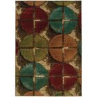 Bienville Contemporary Brown/Teal Area Rug Rug Size: Rectangle 3'10