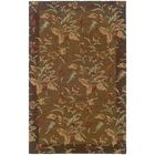Brierley Hand-made Tan/Brown Area Rug Rug Size: Rectangle 5' x 8'