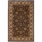 Vinoy Hand-made Brown/Beige Area Rug Rug Size: Rectangle 3'6