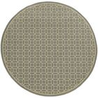 Liza Grey/Ivory Indoor/Outdoor Area Rug Rug Size: Rectangle 5'3