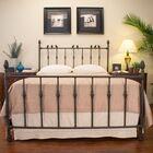 Georgetown Panel Bed Size: Queen, Color: Textured Rust