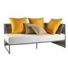 Pasquale Loveseat with Cushions Color: Natte White