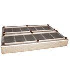 Osborne Platform Bed Color: Coco Coral, Size: Queen