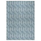 Lucia Blue/Gray Indoor  Area Rug Rug Size: Rectangle 6'7