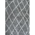 Bousquet Gray Area Rug Rug Size: Rectangle 7'10