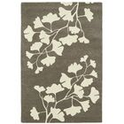 Talitha Hand-Tufted Grey / Ivory Area Rug Rug Size: Rectangle 8' x 10'