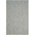 Brodie Gray / Navy Indoor/Outdoor Area Rug Rug Size: Rectangle 8' x 11'