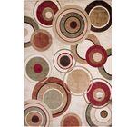 Nolan Geometric Brown/Tan Area Rug Rug Size: 6'7