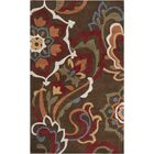 Deveau Green Rug Rug Size: Rectangle 9' x 13'