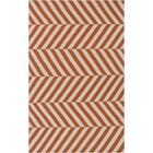 Diego Rust/Ivory Area Rug Rug Size: Rectangle 5' x 8'