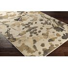 Divernon Beige Floral and Plants Area Rug Rug Size: Rectangle 5'3