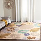 Hayes Hand-Hooked Gray Area Rug Rug Size: Rectangle 4' x 6'