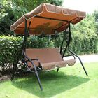 Welch Porch Swing with Stand Finish: Black