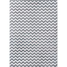 Burgess Chevron Light Blue/Ivory Area Rug Rug Size: Rectangle 5'3