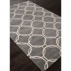 Mellie Gray/Ivory Rug Rug Size: Rectangle 5' x 8'