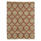 Dolder Grey & Rust Area Rug Rug Size: Rectangle 7'6