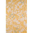 Dominick Hand-Tufted Gold Area Rug Rug Size: Rectangle 3'6