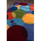 User Hand-Tufted Blue Area Rug Rug Size: Rectangle 5'3