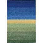 Cora Greener Pastures Hand-Woven Ocean Blue Area Rug Rug Size: Rectangle 8' x 11'6
