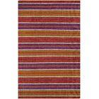 Cordero Coral Hand-Woven Punch Indoor/Outdoor Area Rug Rug Size: Runner 2'3